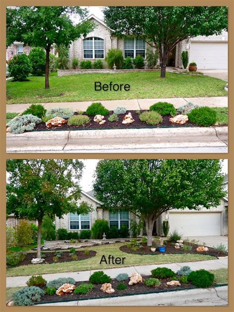 xeriscape ideas for front yard a new xeriscaped front yard central texas gardening