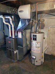 Gas Furnace  U0026 Humidifier Installation In Wynnewood