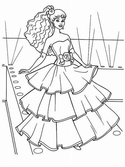 Princess Coloring Pages Princesses Coloriage Princesse Colouring