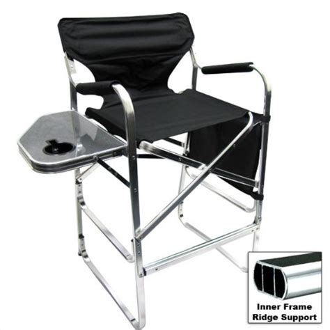 deluxe folding directors chair foldable chair with