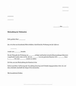 Rückzahlung Kaution Frist : r ckforderung der mietkaution muster word und pdf ~ A.2002-acura-tl-radio.info Haus und Dekorationen