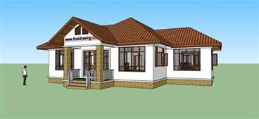 free home plan thai drawing house plans free house plans