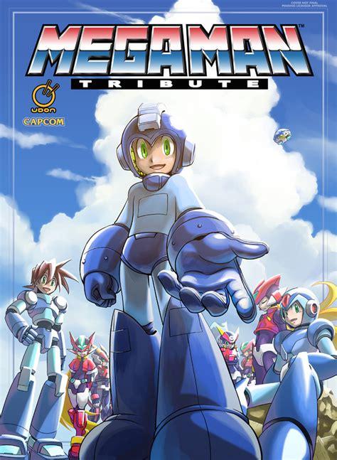 Mega Man Tribute Hardcover By Mattmoylan On Deviantart