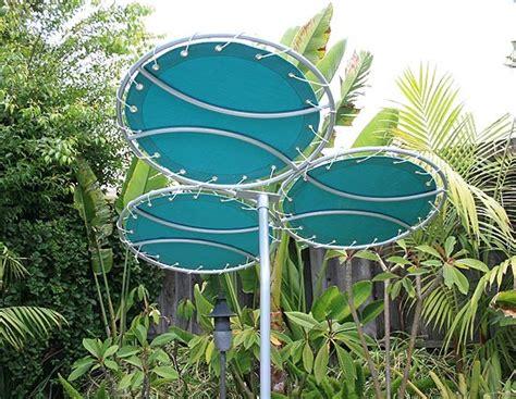 garden sun shades parasols tri corale sun shade modern outdoor umbrellas by inmod