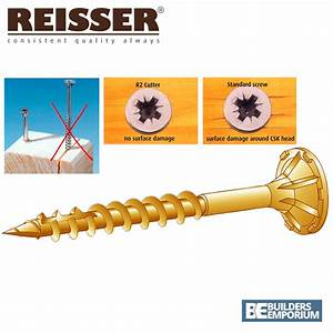Reisser Online Shop : wood screws 4mm reisser r2 cutter 200 per box all sizes 20mm 30mm 50mm 80mm ebay ~ A.2002-acura-tl-radio.info Haus und Dekorationen