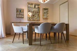 Table et chaises de salle a manger design chaise idees for Chaises de salle à manger design