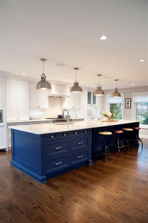 colorful kitchen island ideas  turquoise home