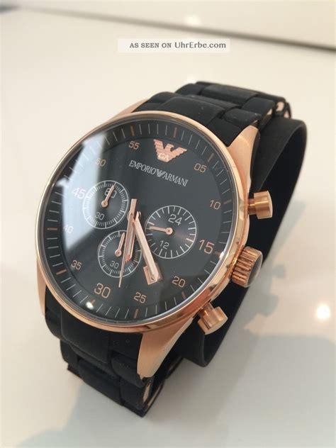 Emporio Armani Herrenuhr Ar5905 Uhr Armbanduhr Chronograph