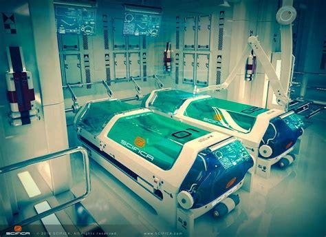 Scifi Laboratory Interior 3d Model By Anton Cermak