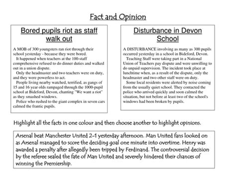 8th grade 187 fact and opinion worksheets 8th grade