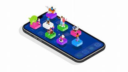Apple App Stores Infografik Adjust Entwicklung Mobilbranche