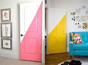 les 25 meilleures idees de la categorie papier peint pour With charming peindre porte 2 couleurs 3 6 idees pour decorer une porte joli place