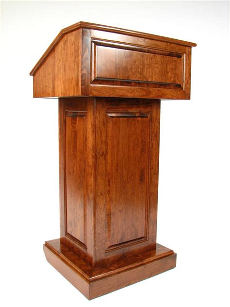 solid wood podium converts  tabletop lectern