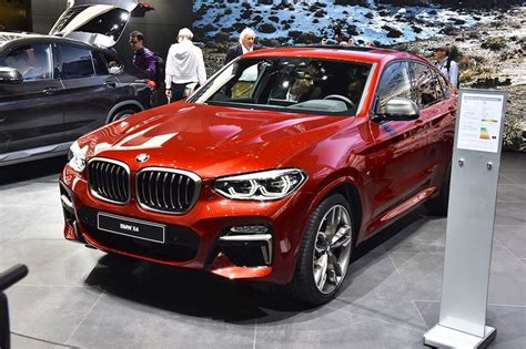 Update Motor Show 2018 : 2018 Bmw X4 M40d Front Three Quarters Left Side At 2018