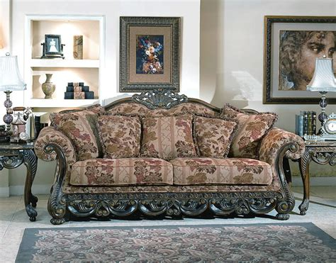 Traditional Sofas by Ellianor Traditional Sofa Set Y23 Traditional Sofas