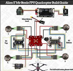 Wiring Diagram Drone Racing Simulator Quadcopter For