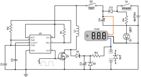 zener diode tester circuit diagram electronic projects