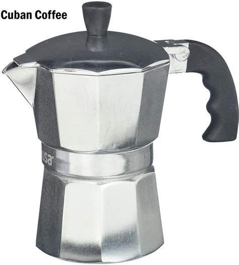 The oomph advanced coffee maker, midnight black. IMUSA USA 3 Cup Traditional Stovetop Espresso/Cuban Coffee Maker - Walmart.com - Walmart.com