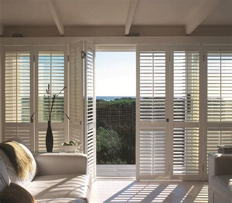sliding door shutters design inspiration plantation shutters custom blinds