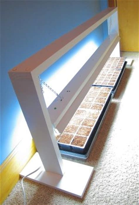 grow light stand how to make your own grow light stand woodworking