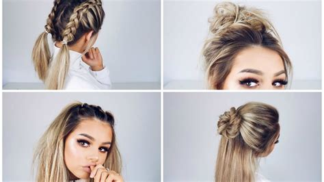 easy styles for hair hairstyles for school easy medium hair styles ideas