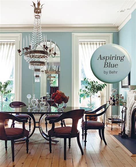paint color aspiring blue by behr