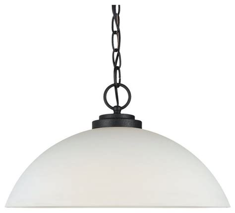 seagull oslo unique pendant light fixture in blacksmith