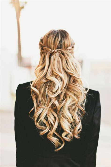 braids hair curls braid blonde crown wedding updo
