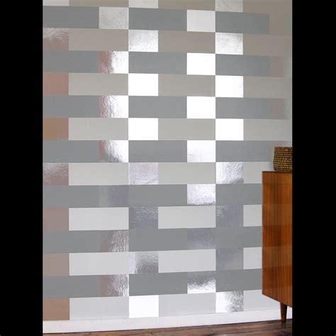 grey white silver wallpaper block grey white silver