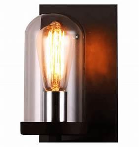 Lampe Sous Cloche : applique style antique bougeoir applique cloche en verre elira ~ Teatrodelosmanantiales.com Idées de Décoration