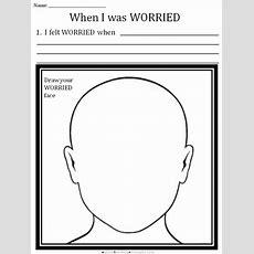 Cbt Children's Emotion Worksheet Series 7 Worksheets For Dealing With Anxiety