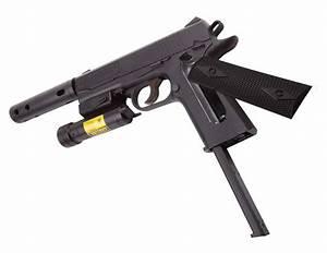 Crosman 1911 Tactical Bb Pistol Combo