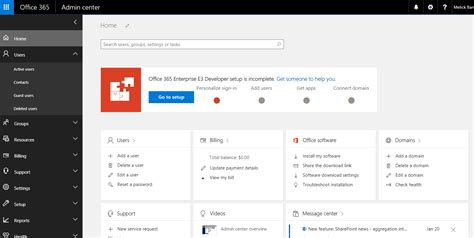 Office 365 Portal by Getting Started With New Office 365 Technet Articles