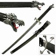 Blue Dragon Crescent Blade