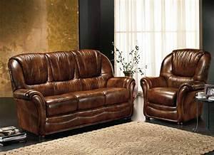 Emejing fauteuil salon marron contemporary design trends for Tapis de course avec comment recouvrir un canapé en cuir