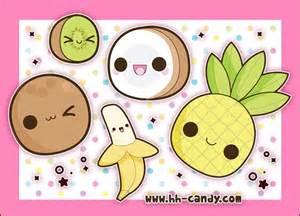 Cute Kawaii Food Drawings