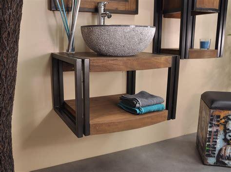 meuble de salle de bain suspendu el 233 gance 60 cm spaces