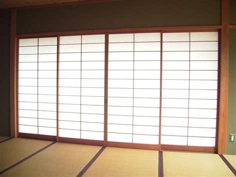 traditional yet pretty japanese sliding doors