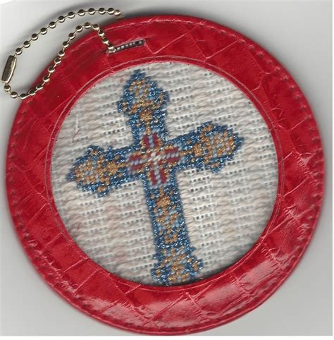 Easy Finish For Needlepoint Ornaments