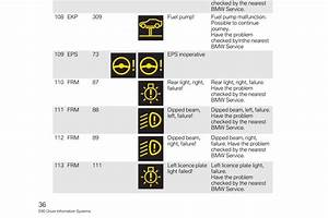 Bmw E92 Warning Lights Meaning