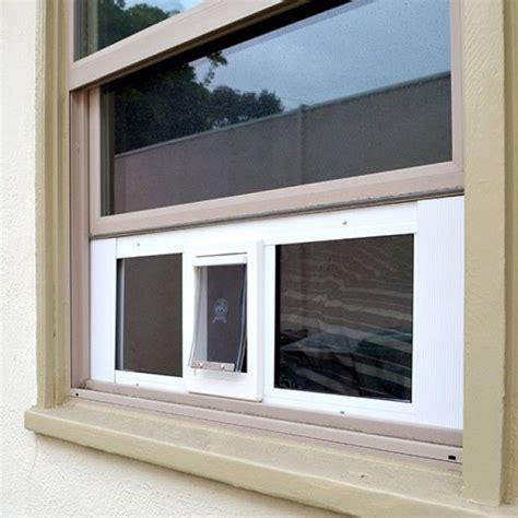 window cat door ideal fast sash window pet door window cat doors cat s
