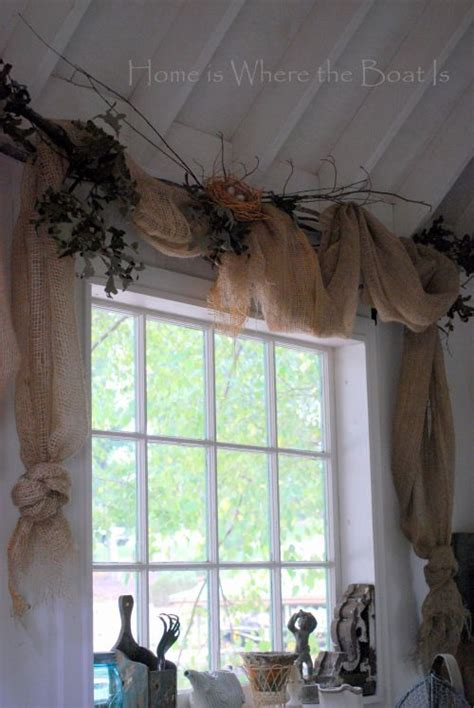 nesting window dressing curtain rods boats and window