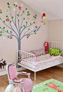 Kinderzimmer Wandgestaltung Ideen : farb und wandgestaltung im kinderzimmer 77 tolle ideen ~ Sanjose-hotels-ca.com Haus und Dekorationen