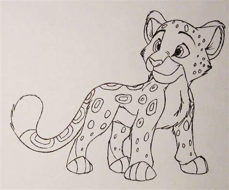 drawn snow leopard cute pencil   color drawn snow