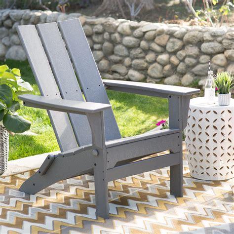exclusive polywood modern folding adirondack chair