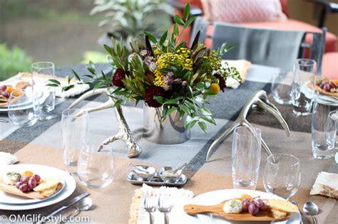 Rustic Elegant Autumn Tablescape  Omg Lifestyle Blog