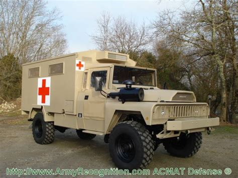 acmat light tactical vehicles for support and ambulance on the battlefield 1404121