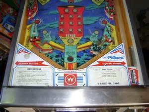 space mission pinball machine