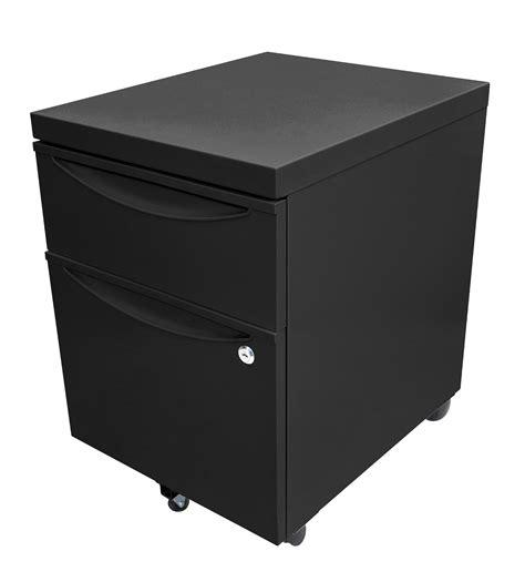Lockable Pedestal Cabinets by Luxor Kdpedestal Bk Mobile Pedestal File Cabinet With