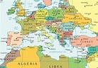 Mediterranean Sea Map - Free Printable Maps